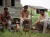Lupita Nyong'o и Chiwetel Ejiofor в фильме 12 лет рабства (12 Years a Slave)