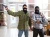 Jesse Eisenberg и Aziz Ansari в фильме Успеть за 30 минут (30 minutes or less)