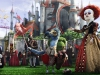 Helena Bonham Carter и Lucy Davenport в фильме Алиса в стране чудес (Alice In Wonderland)