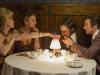 Jennifer Lawrence, Elisabeth Rohm, Christian Bale и Jeremy Renner в фильме Афера по-американски (American Hustle)