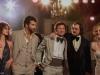 Amy Adams, Bradley Cooper, Jeremy Renner, Christian Bale и Jennifer Lawrence в фильме Афера по-американски (American Hustle)