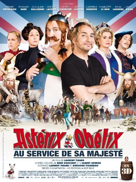 Фильм Астерикс и Обелиск в Британии (Asterix Et Obelix Au Service De Sa Majeste)
