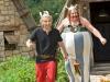 Gerard Depardieu и Edouard Baer в фильме Астерикс и Обелиск в Британии (Asterix Et Obelix Au Service De Sa Majeste)