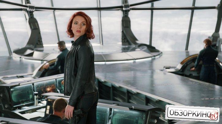 Scarlett Johansson в фильме Мстители (Avengers)