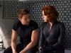 Scarlett Johansson и Jeremy Renner в фильме Мстители (Avengers)