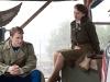 Chris Evans и Hayley Atwell в фильме Первый мститель (Captain America First Avenger)