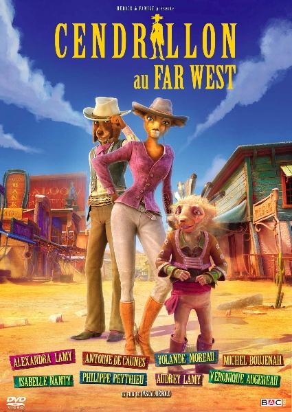 Мультфильм Золушка - полный вперед (Cendrillon au Far West)