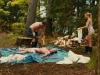 Сцена из фильма Убойный уикенд (Cottage Country)