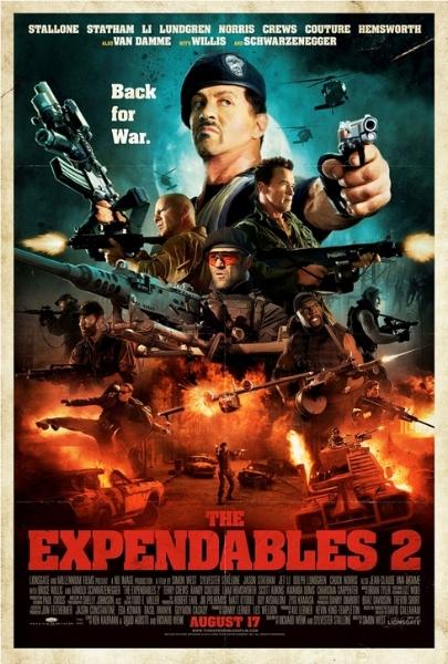 Фильм Неудержимые 2 (Expendables 2)