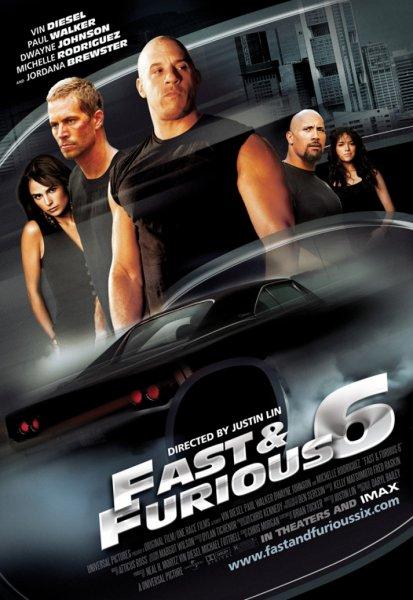 Фильм Форсаж 6 (Fast and Furious 6)