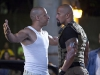 Vin Diesel и Dwayne Johnson в фильме Форсаж 5 (Fast Five)