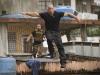 Dwayne Johnson и Vin Diesel в фильме Форсаж 5 (Fast Five)