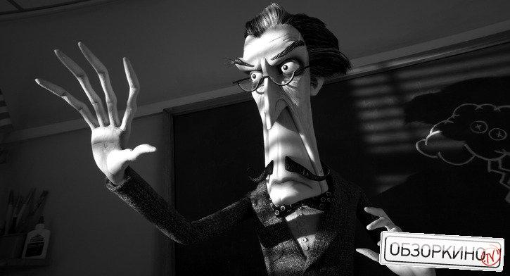 Сцена из мультфильма Франкенвини (Frankenweenie)