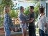 Jenna Elfman, Richard Jenkins, Justin Timberlake и Mila Kunis в фильме Секс по дружбе (Friends With Benefits)