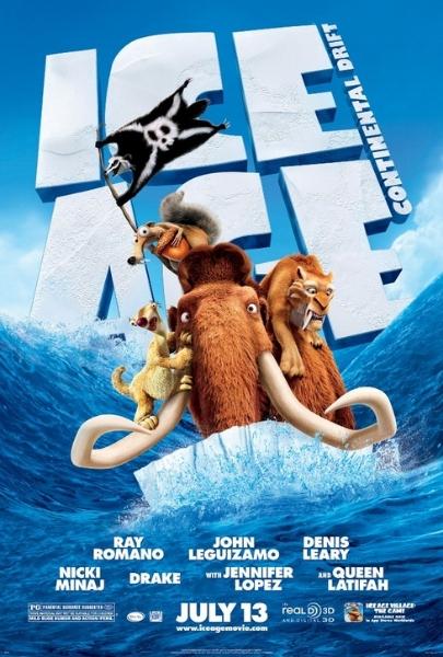 Мультфильм Ледниковый период (Ice Age: Continental Drift)