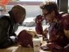Robert Downey Jr. и Samuel L. Jackson в фильме Железный человек 2 (Iron Man 2)