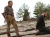 Robert De Niro и John Travolta в фильме Сезон убийц (Killing Season)
