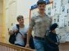 Дмитрий Дюжев и Евгений Ткачук в фильме Курьер из рая