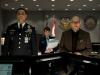 Harry Lennix, Christina Wren и Richard Schiff в фильме Человек из стали (Man of Steel)
