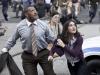 Laurence Fishburne и Rebecca Buller в фильме Человек из стали (Man of Steel)