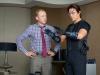 Simon Pegg и Tom Cruise в фильме Миссия невыполнима протокол Фантон (Mission Impossible Ghost Protocol)