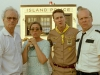 Bill Murray, Frances McDormand, Edward Norton и Bruce Willis в фильме Королевство полной луны (Moonrise Kingdom)