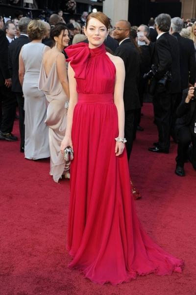 Emma Stone на красной дорожке