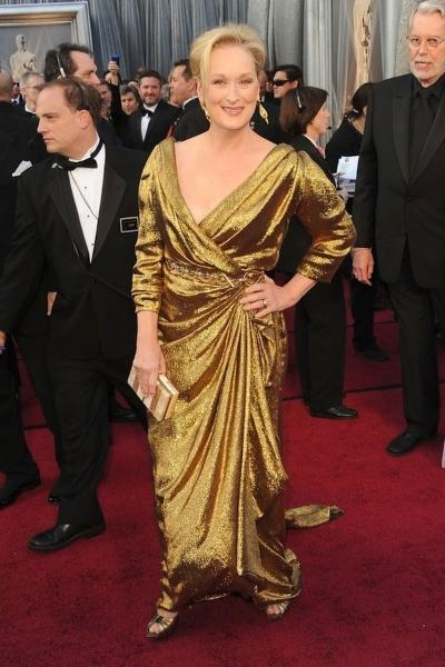 Meryl Streep на красной дорожке