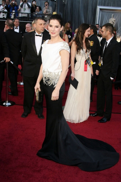 Sandra Bullock на красной дорожке