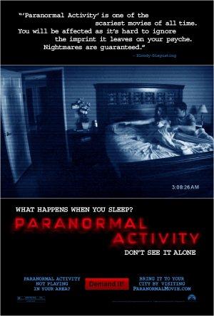 Фильм Паранормальное явление (Paranormal Activity)