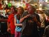Simon Pegg, Nick Frost и Kristen Wiig в фильме Пол: Секретный материальчик (Paul)