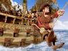 Сцена из мультфильма Пираты: банда неудачников (Pirates The Band of Misfits)