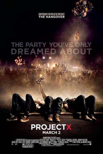 Фильм Проект Х: дорвались (Project X)