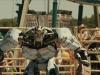 Сцена из фильма Живая сталь (Real Steel)