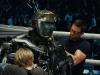 Dakota Goyo и Hugh Jackman в фильме Живая сталь (Real Steel)