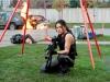 Michelle Rodriguez в фильме Обитель зла Возмездие (Resident Evil Retribution)