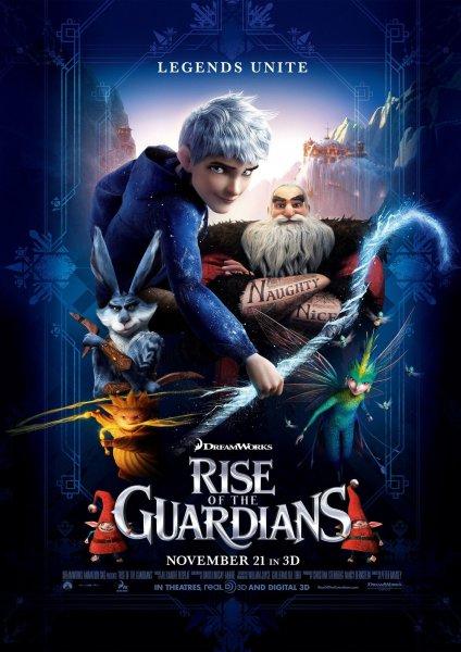 Мультфильм Хранители снов (Rise of the Guardians)
