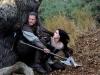 Kristen Stewart и Chris Hemsworth в фильме Белоснежка и охотник (Snow White and the Huntsmen)