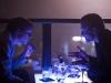 Jesse Eisenberg и Justin Timberlake в фильме Социальная сеть (Social Network)