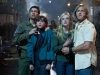 Kyle Chandler, Joel Courtney, Elle Fanning и Ron Eldard в фильме Супер 8 (Super 8)