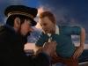 Сцена из мультфильма Приключения Тинтина: тайна Единорога (The Adventures of Tintin)