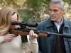 George Clooney и Violante Placido в фильме Американец (The American)