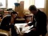 Rooney Mara и Daniel Craig в фильме Девушка с татуировкой дракона (The Girl with the Dragon Tattoo)