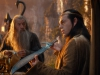 Ian McKellen и Hugo Weaving в фильме Хоббит Нежданное путешествие (The Hobbit An Unexpected Journey)