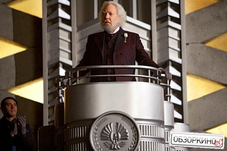 Donald Sutherland в фильме Голодные игры (The Hunger Games)