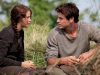 Jennifer Lawrence  Liam Hemsworth     (The Hunger Games)