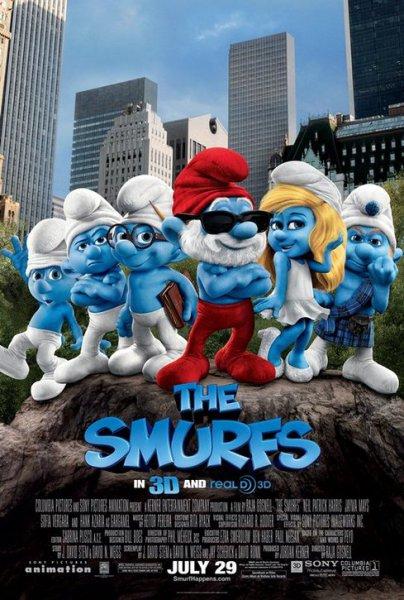 Фильм Смурфики (The Smurfs)