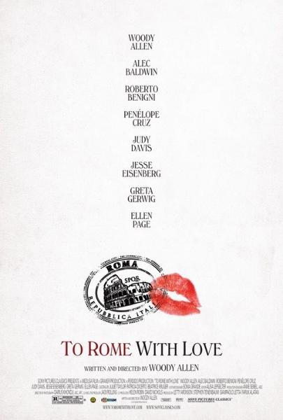 Фильм Римские приключения (To Rome With Love)