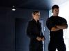 Frances McDormand и Josh Duhamel в фильме Трансформеры 3 (Transformers 3)