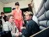Роман Мадянов, Нонна Гришаева и Эдуард Радзюкевич на съемочной площадке фильма All inclusive или все включено